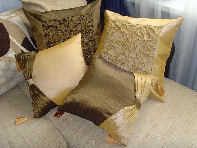 декоративный чехол на подушку