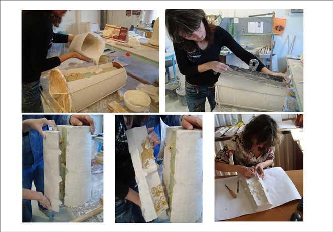 Как изготовить лепнину из гипса своими руками