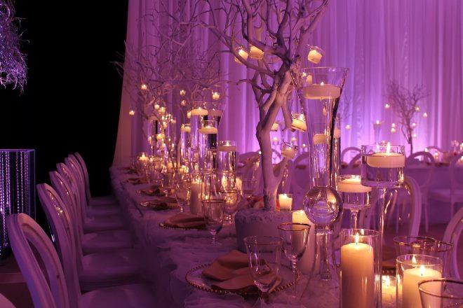 Праздничный декор свечей