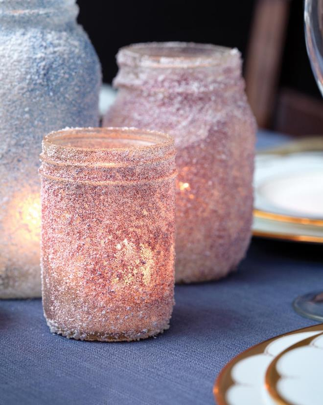 Стильное украшение из соли
