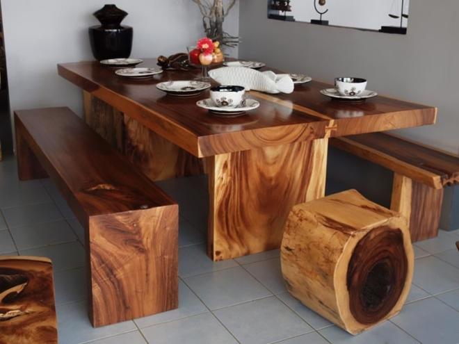 Деревянная мебель для квартиры