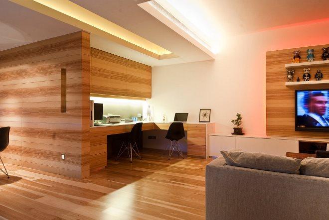 Деревянная отделка стен и потолка