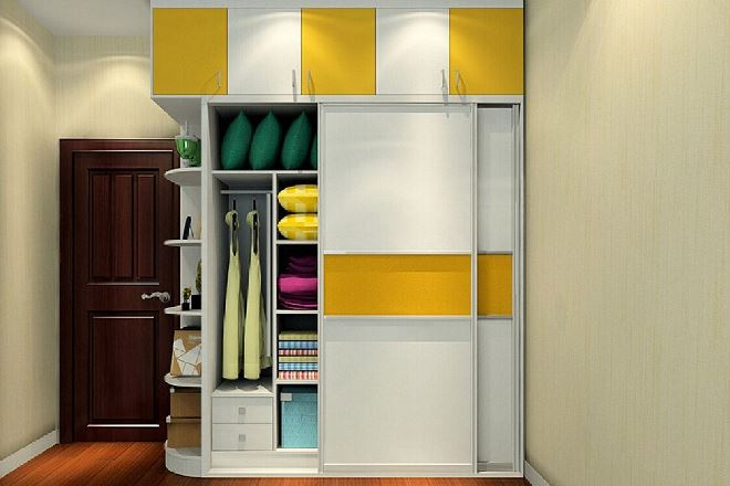 Дизайн и цвета шкафа-купе