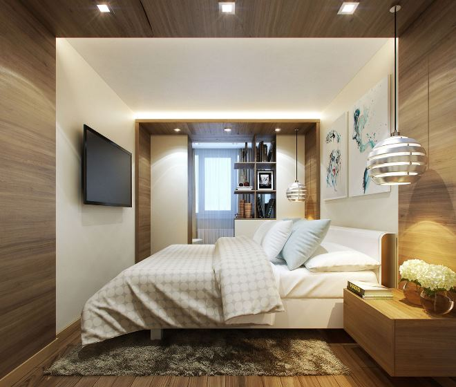 Дизайн спальни с балконом: варианты оформления