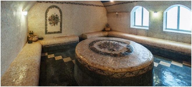 Дизайн бани с комнатой отдыха внутри