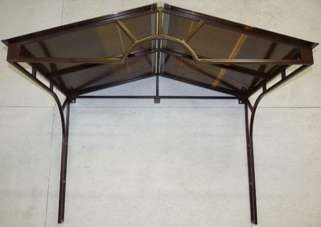 Изготовление двускатной конструкции