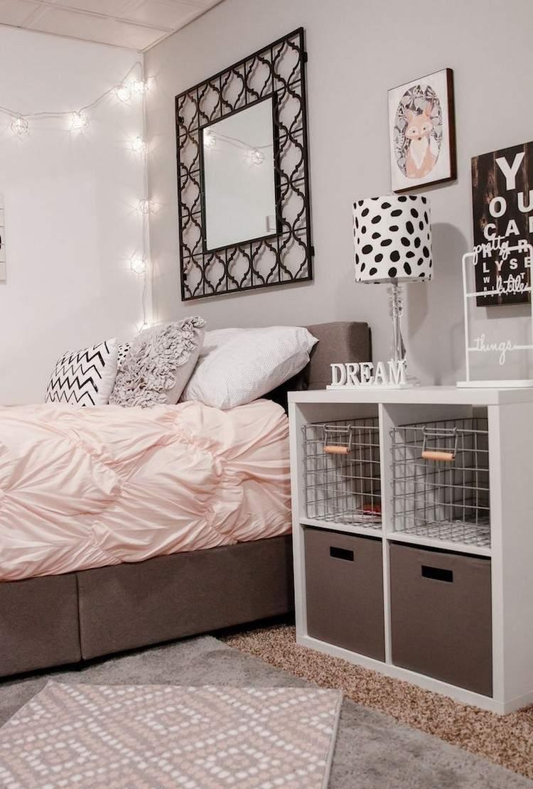 Дизайн спальни 18 кв м с декором
