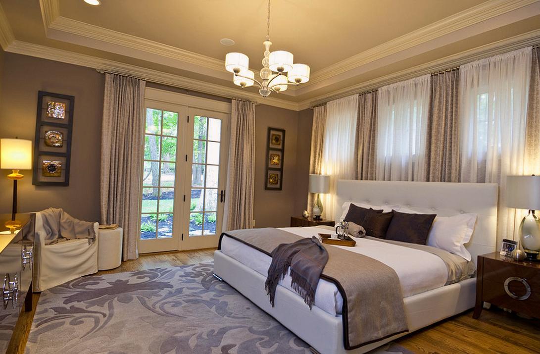 Современная спальня в стиле модерн