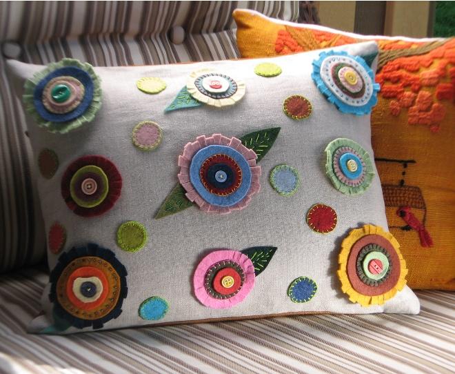 Фетровые подушки