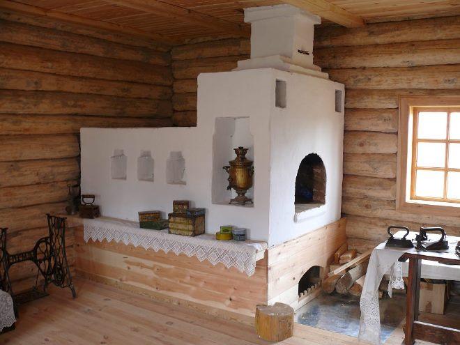 Где устанавливают русскую печь