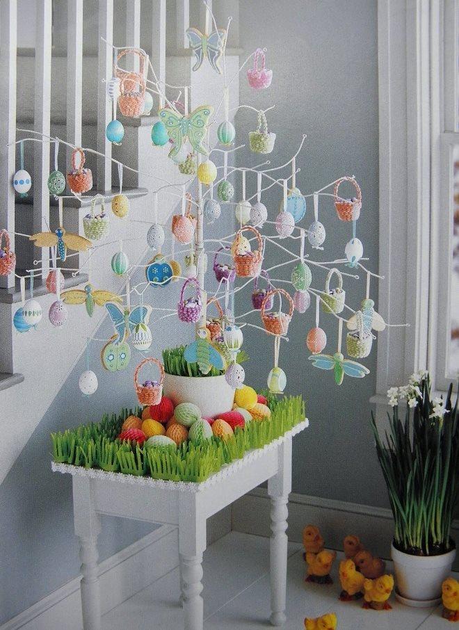 Идеи для украшения дома на пасху