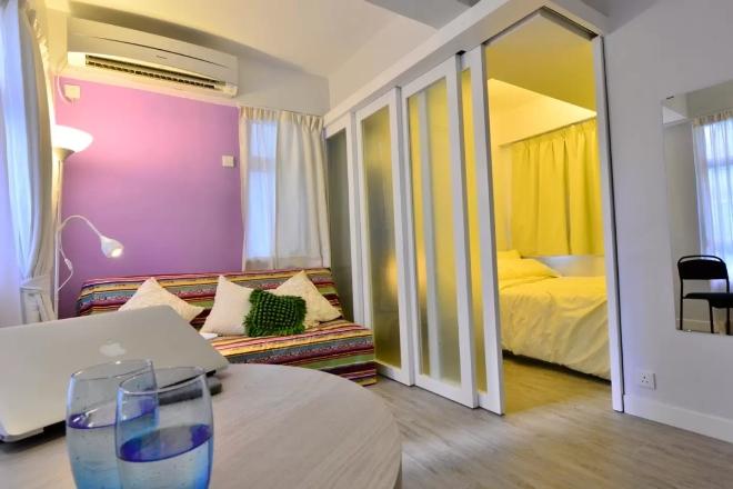 Как отделить спальную зону в однокомнатной квартире