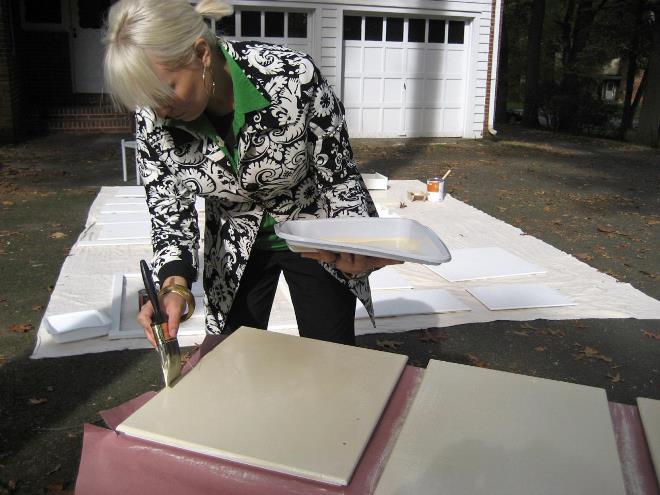 Подготовка поверхности и алгоритм окрашивания