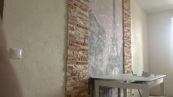 Стыковка с плиткой или декоративным камнем