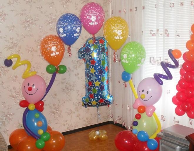 Украшаем комнату малыша на 1 год