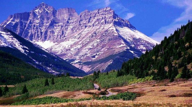 Горы и пейзажи для спальни