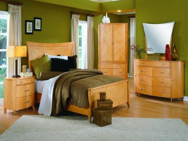 Деревянная мебель популярных коричневых тонов