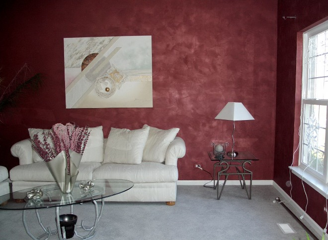 Виды краски для стен и обоев