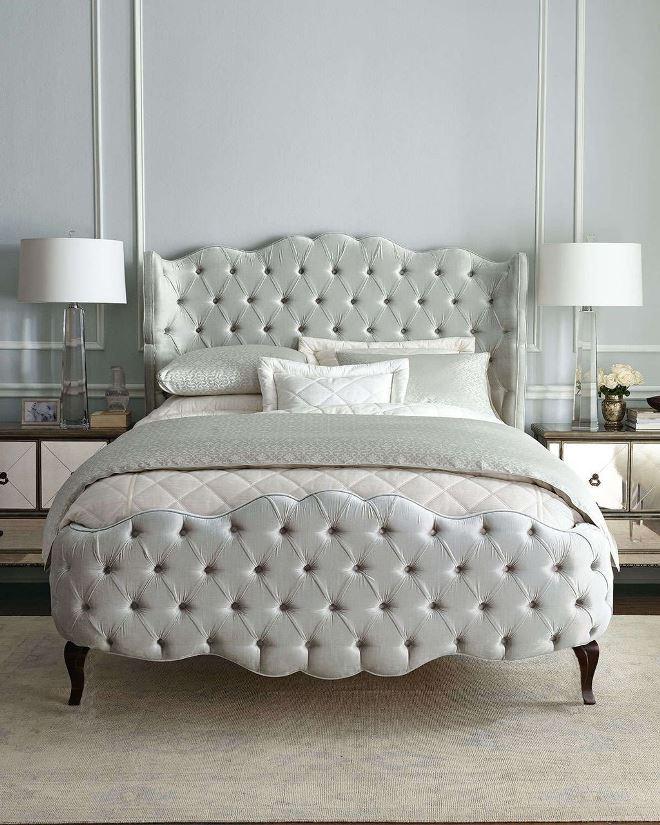 Виды кроватей с мягким изголовьем