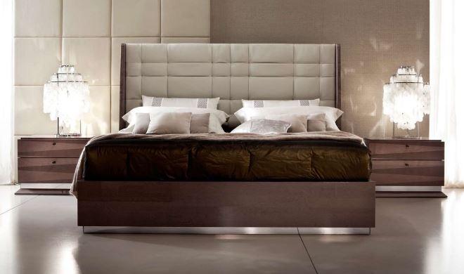 Стили кроватей с мягким изголовьем