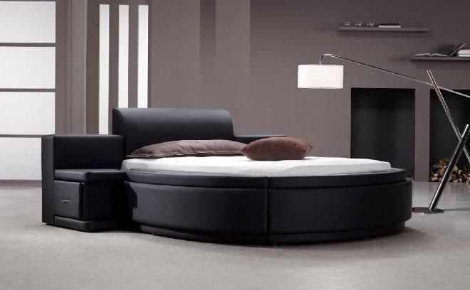 Варианты комплектации круглых кроватей