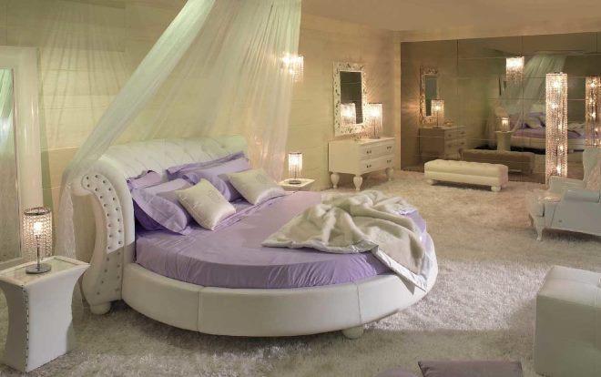 Круглая кровать для подростка