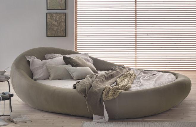 Типы круглых кроватей