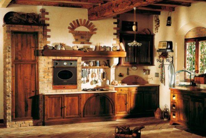 Декор деревянного гарнитура