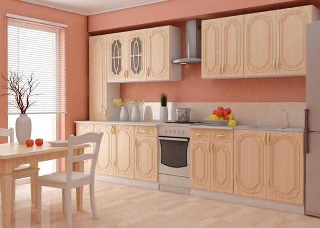 Материалы изготовления кухонных гарнитуров