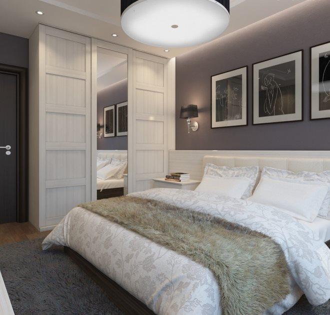 Как расположить кровать в спальне