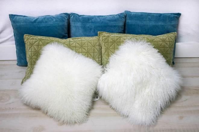 Когда используются меховые подушки