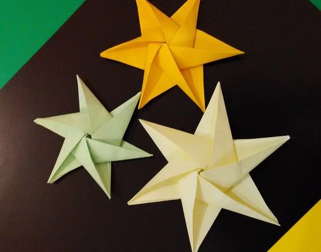 Объемные звезды