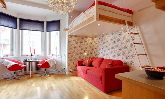Отделка помещения и стилистика