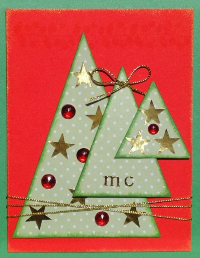 Как сделать открытку новогоднюю английская