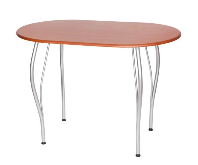 Стол кухонный овальный