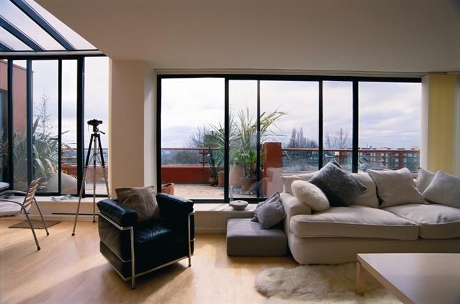 Панорамные окна в дизайне квартиры