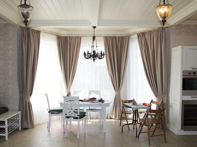 Панорамные окна в квартире