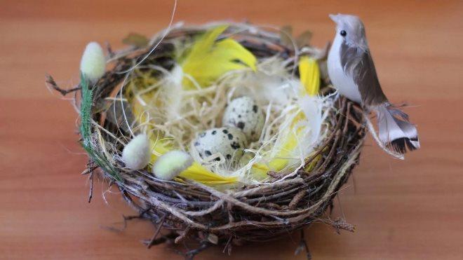 Пасхальные гнезда