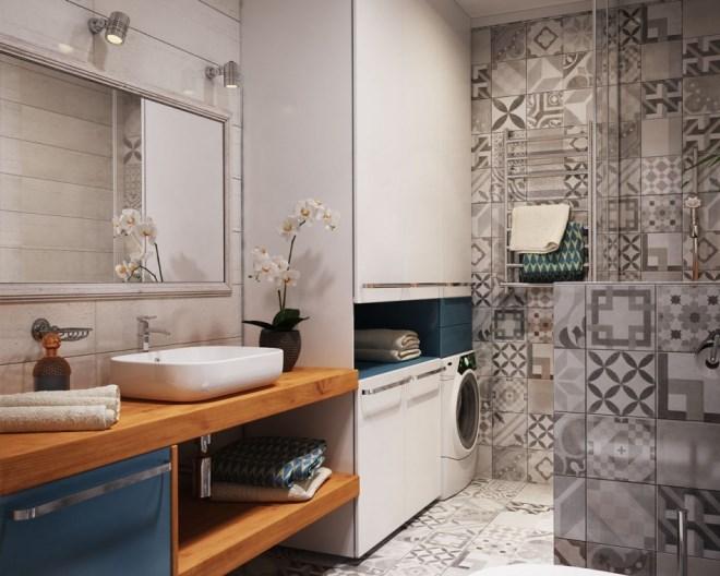 Планировка ванной комнаты 7 кв. м