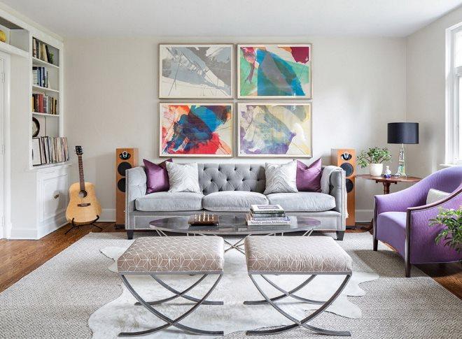 Цвет и стиль интерьера