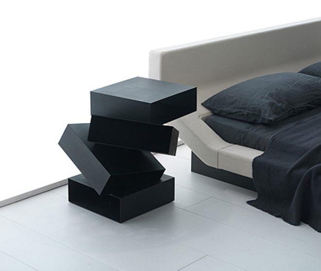 Необычные модели прикроватных тумб