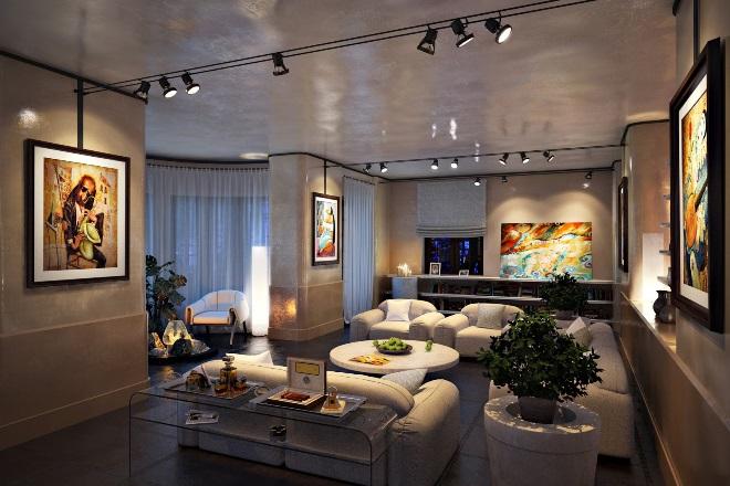 Особенности подсветки в интерьере гостиной