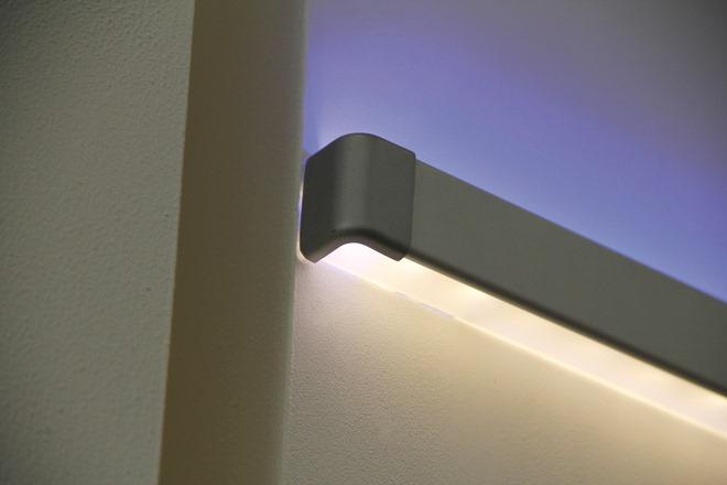 Профили для светодиодных лент из пластика