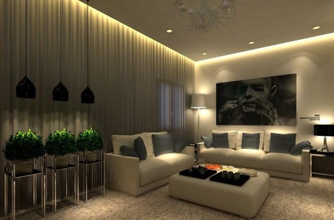 Виды подсветки и освещения натяжных потолков