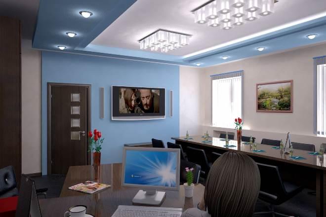 Потолок для рабочего кабинета