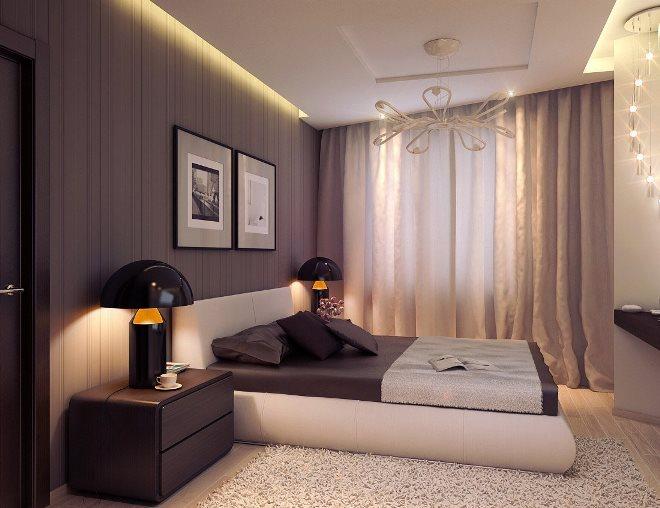Расстановка мебели в спальне с балконом: с чего начать?