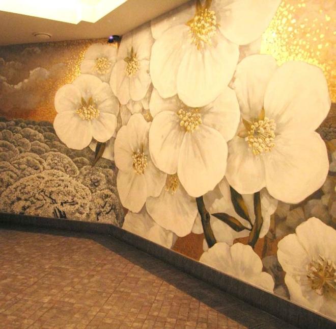 Особенности техники росписи стен