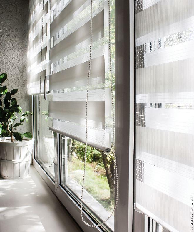 День-ночь рулонные шторы