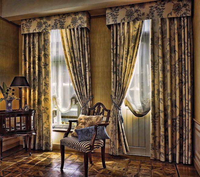 Разновидности штор для гостиной<