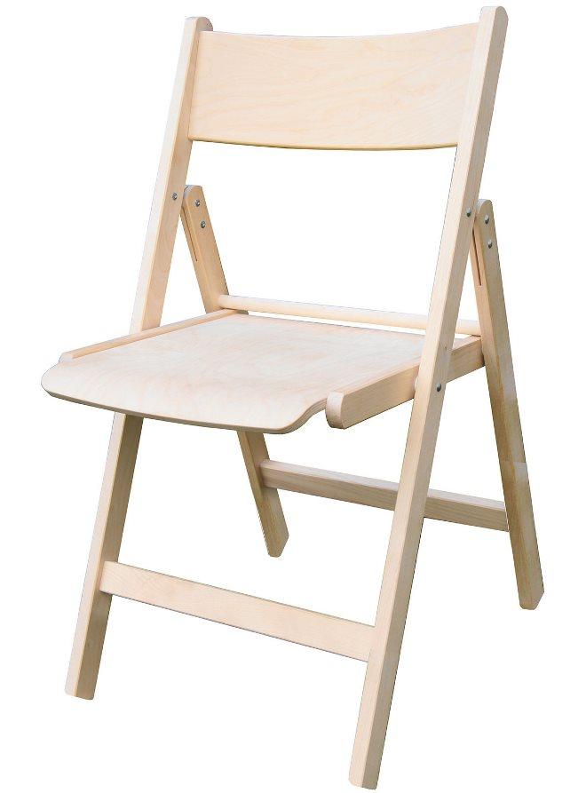 Складные стулья из дерева